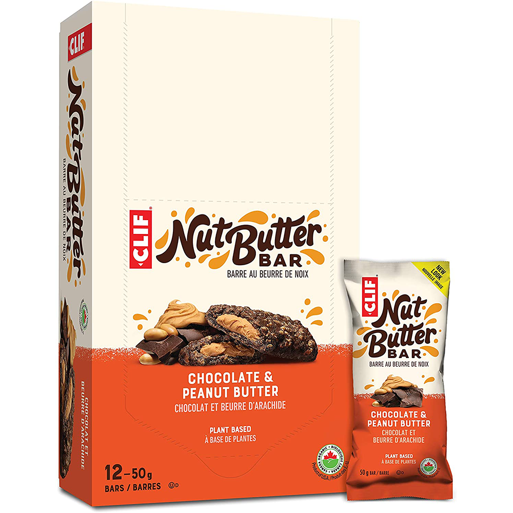 CLIF BAR - NUT BUTTER CHOCOLATE PEANUT BUTTER