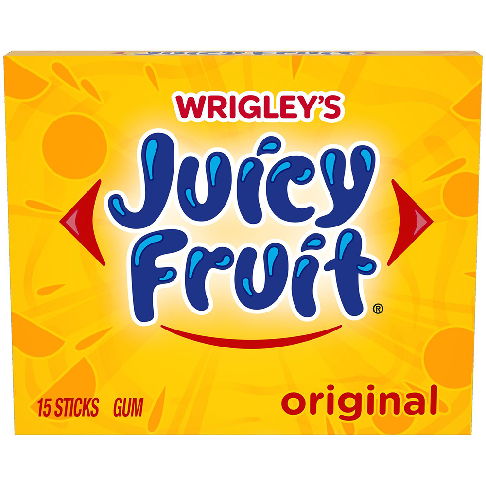 WRIGLEY'S - JUICY FRUIT ORIGINAL (15 PCS)