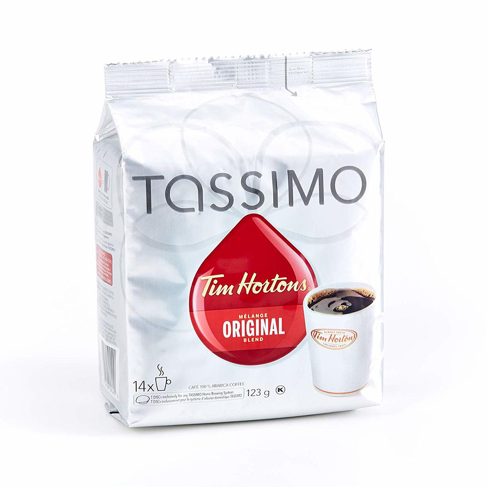 TASSIMO TIM HORTON'S COFFEE SINGLE SERVE (14 T-Discs)