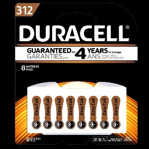 DURACELL® Hearing Aid Battery, With EasyTab