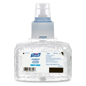 PURELL ADVANCED HAND SANITIZER GEL FOR LTX-7 TOUCH FREE DISPENSER 700ML REFILL CARTRIDGE (BOX OF 3)