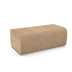 PAPER TOWEL SINGLE FOLD NATURAL PAPER 250 SHEET PKG (CASE OF 16)