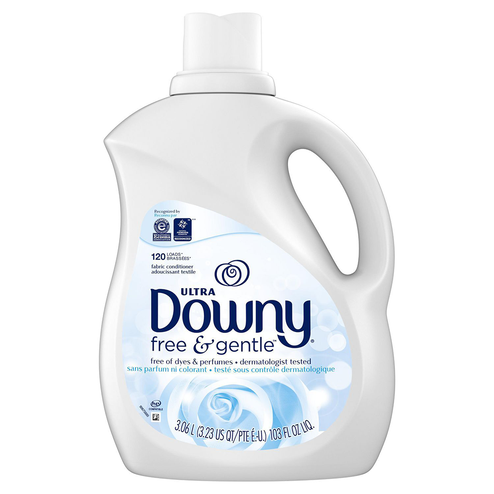 Free & Sensitive Unscented Fabric Softener | 120 Loads | 3.06 L