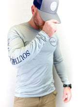 Load image into Gallery viewer, Silver Dry Fit Long Sleeve (Limited Edition)