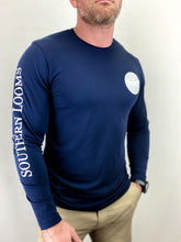 Load image into Gallery viewer, Navy Performance Dry Fit Long Sleeve (Limited Edition)