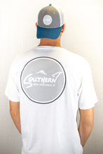 Load image into Gallery viewer, White Short Sleeve Circle Logo Tee