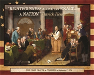 The First Prayer in Congress (500 pieces)