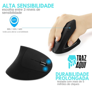 CHY2.0 - Mouse Vertical (PROMO BLACK FRIDAY)