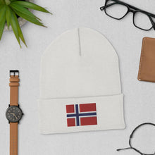 Load image into Gallery viewer, Norwegian Beanie | Cozy Form-fitting Norway Flag Hat Yoreup
