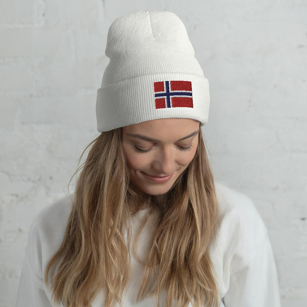Norwegian Beanie | Cozy Form-fitting Norway Flag Hat Yoreup Default Title