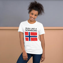 Load image into Gallery viewer, Norwegian Women's Running Shirt Yoreup