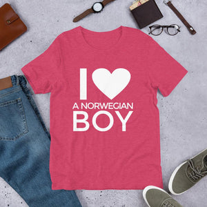 Women's Norwegian Shirt - Wear your love with pride! shirt Yoreup