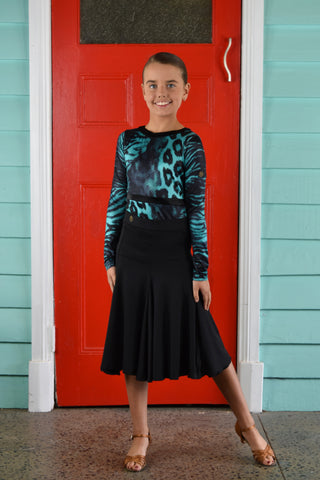 Polly Girls Ballroom Skirt