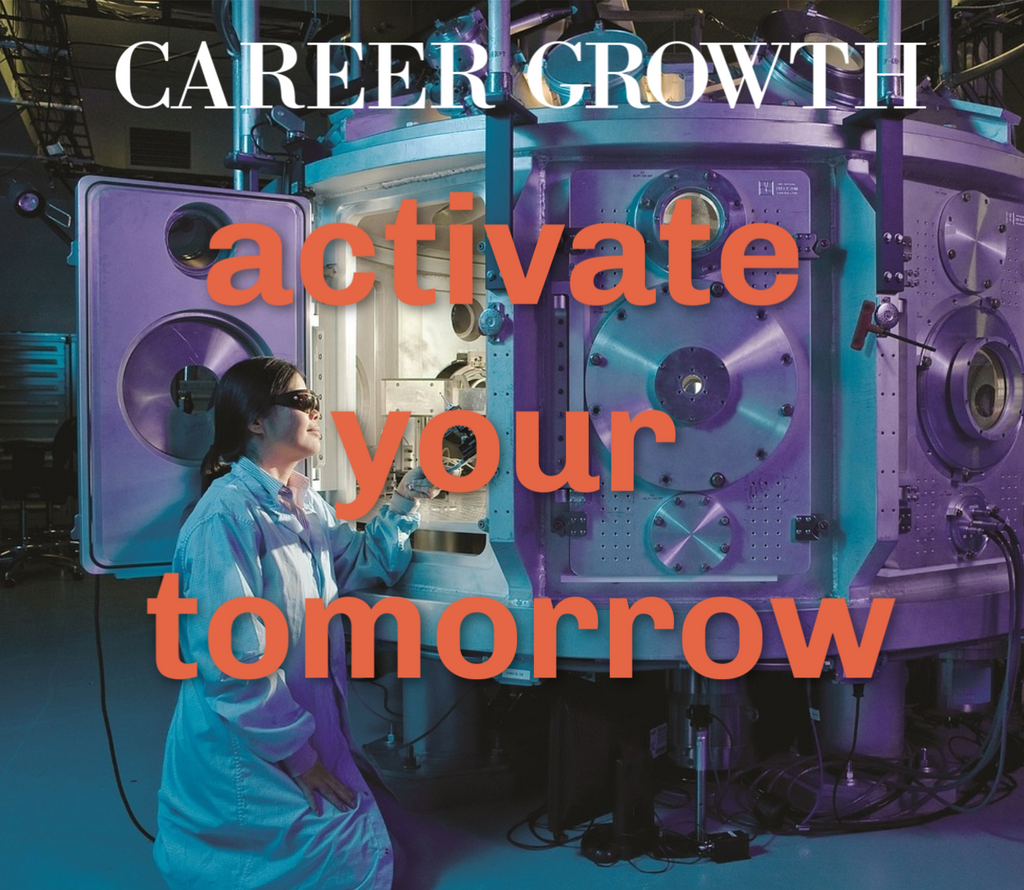 Career Growth - Activate Your Tomorrow