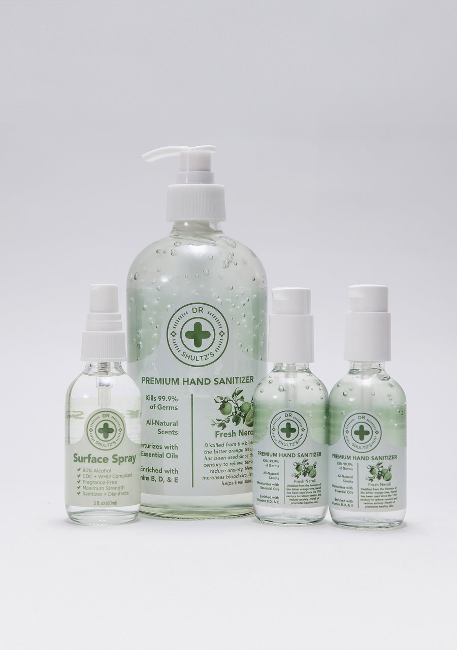 Moisturizing Essential Oil Sanitizer (Pack)