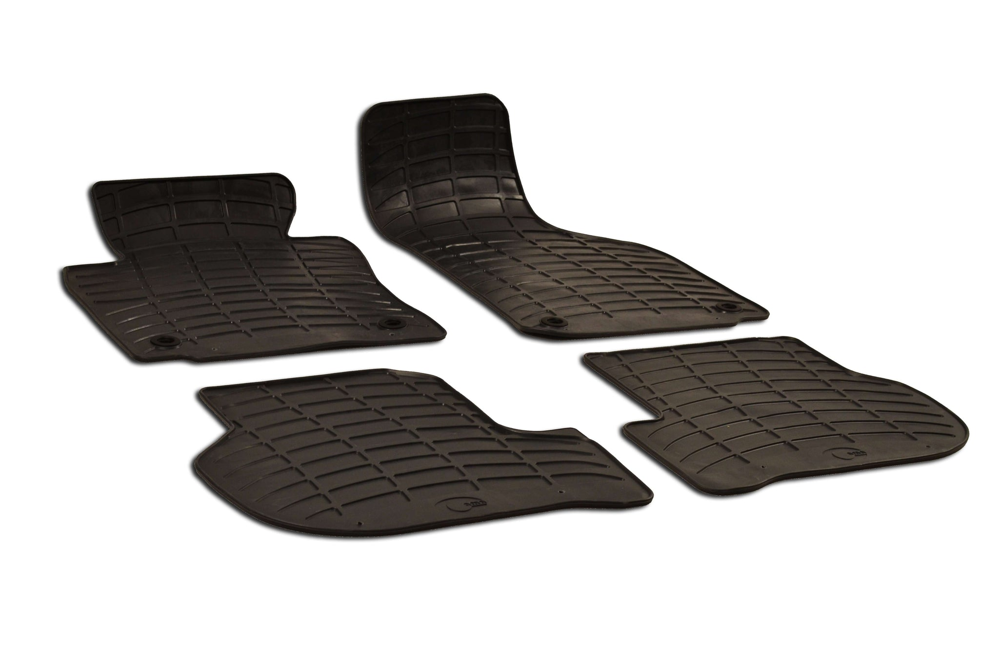Volkswagen Golf  2003 Set of 4 Black Rubber OE Fit All Weather Car Floor Mats