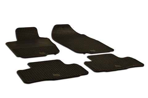 Toyota RAV4 2011 Set of 4 Black Rubber OE Fit All Weather Car Floor Mats