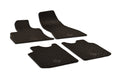 Fiat 500L 2019 Set of 4 Black Rubber All Weather Floor Mats OE Fit Ubermats