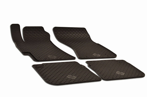 Subaru Legacy 2003 Set of 4 Black Rubber OE Fit All Weather Car Floor Mats
