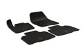 Ford Edge 2019 Set of 4 Black Rubber All Weather Floor Mats OE Fit Ubermats