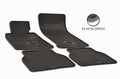 BMW 528i E60 2008 Set of 4 Black Rubber All Weather Floor Mats OE Fit Ubermats
