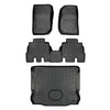 2017 Jeep Wrangler Unlimited Rubicon Maxliner Floor Mats