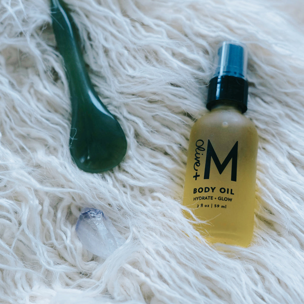 Hydrate + Glow Body Oil - Olive + M