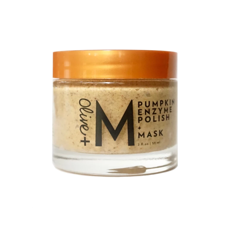 Limited Edition Pumpkin Face Polish + Mask (2 oz) - Olive + M
