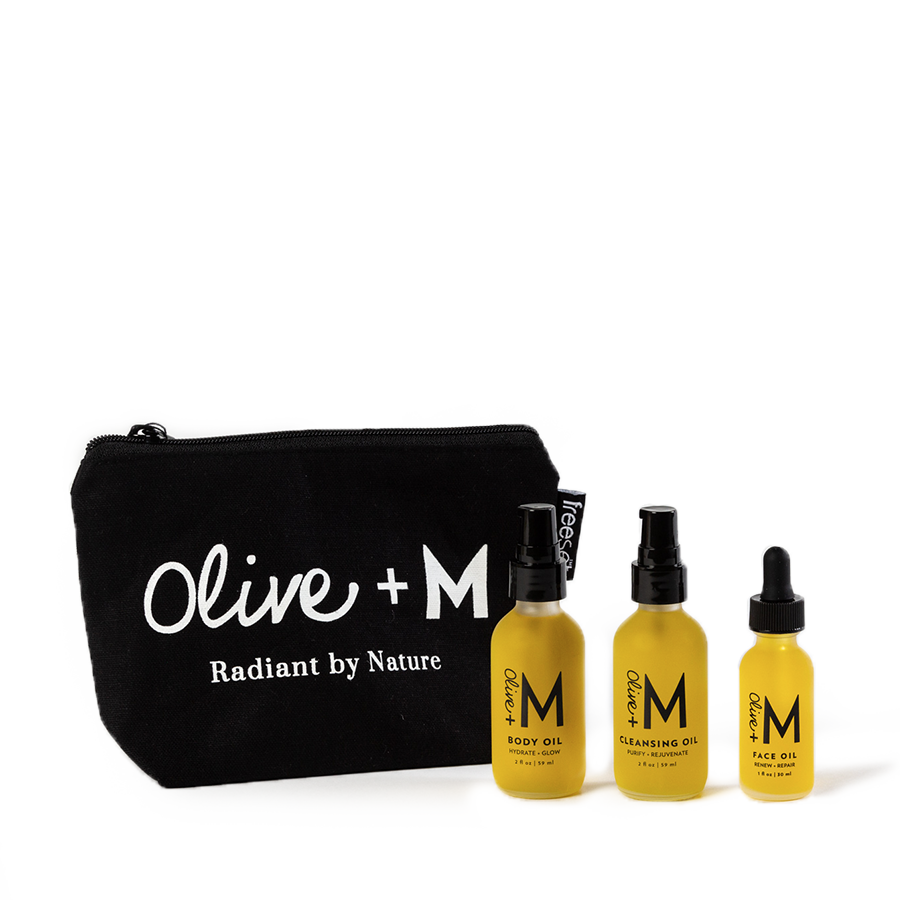 Travel + Glow - TSA Approved - Olive + M