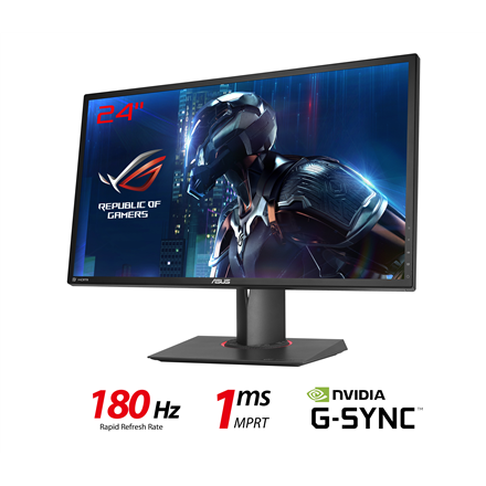 "ASUS ROG Swift PG248Q 24"" Žaidimų Monitorius - Spacebar.gg"