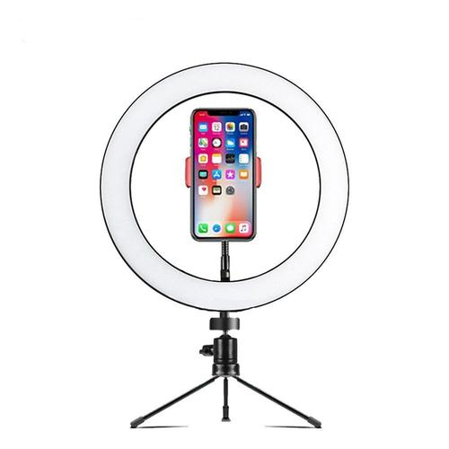 NÖRDIC LED Ring Light Lempa Išmaniam Telefonui - Spacebar.gg