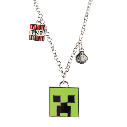 Minecraft - Enchanted Creeper pakabukas ant kaklo - Spacebar.gg