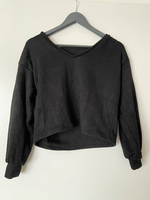 crop sweater size S - secondhandkiste.ch