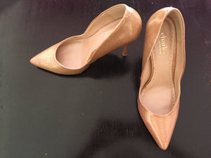Hohe Schuhe Charles, gold, Gr. 38 - secondhandkiste.ch