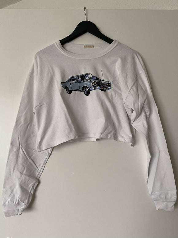 crop top sweater size s - secondhandkiste.ch