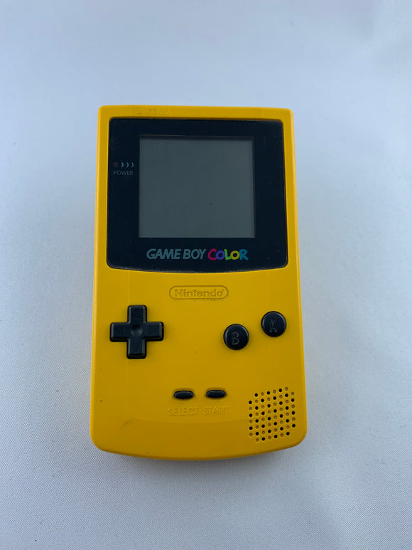 Gameboy Color in Gelb - secondhandkiste.ch