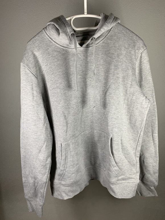 Basic Hoodie in Grau - secondhandkiste.ch
