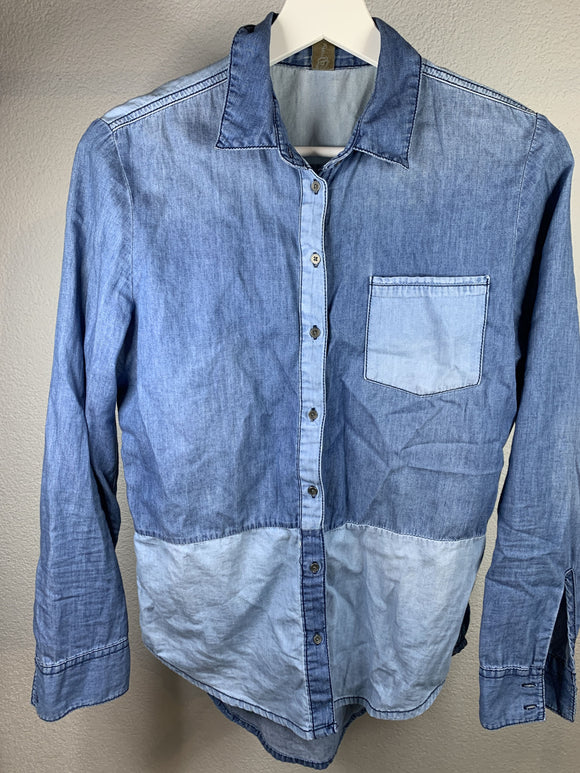 Denim Hemd Grösse 34 - secondhandkiste.ch