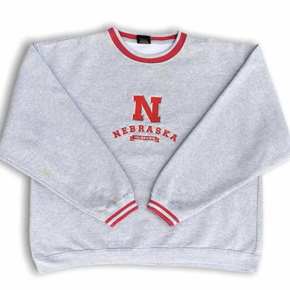 Vintage Nebraska Huskers Sweater XL