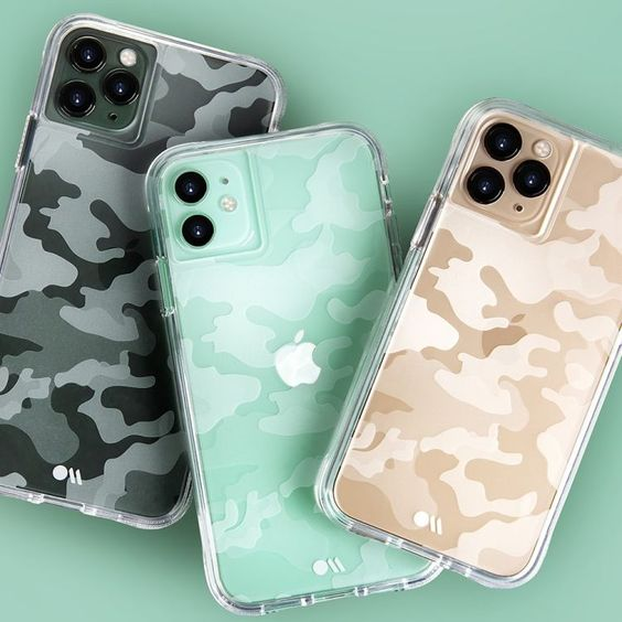 Funda iphone camuflaje