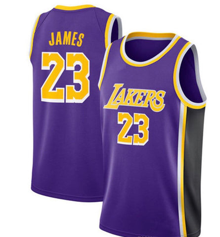 Camiseta baloncesto de NBA para hombres Jersey LOS ANGELES basketball LAKERS Purple - AMERICAN PALMA STORE