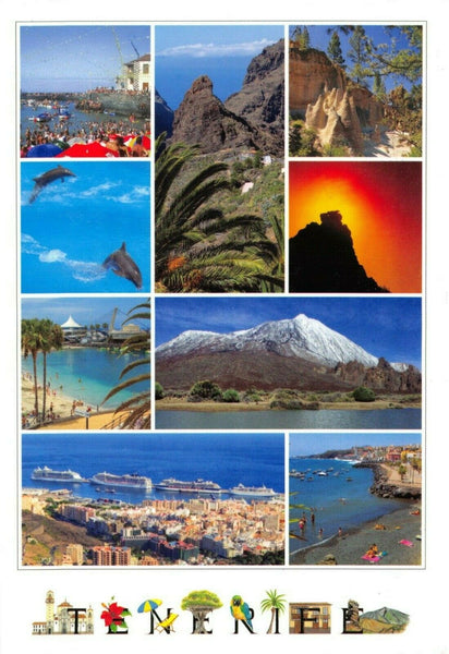 Spain Multi View Postcard, Tenerife FJ6