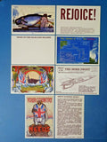 South Atlantic Souvenirs Postcards Falkland Islands, Careless Talk Costs Lives