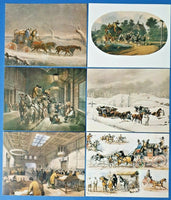Set of 6 Postcards, Morten Collection Series 1, Post Office, Royal Mail GD0