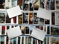 Collection of 50 Art Postcards, Sculptures Assemblage Artists Postcrossing PC463
