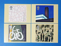 Set of 4 PHQ Stamp Postcards Set No.219 Art and Craft Millennium 2000 GC9