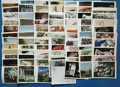 100 Different Brand New Art Photographic Sculpture Postcards Famous Artists PC464