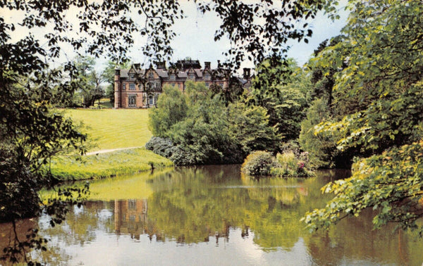 Vintage Staffordshire Postcard, Keele Hall, University of Keele FM3