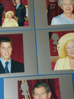 Set of 5 PHQ Stamp Postcards Set No.PSM04 100th Birthday of the Queen Mother CR9