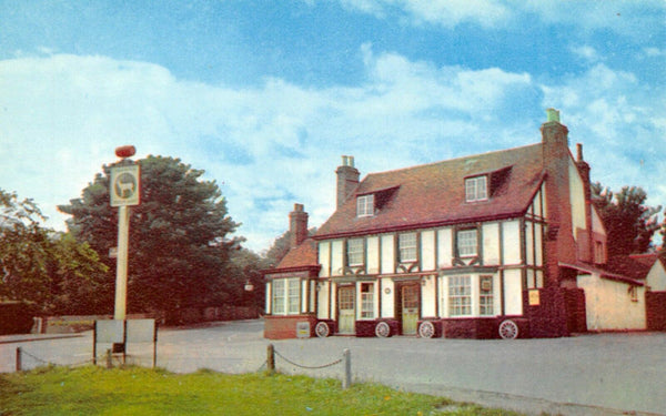 Essex Postcard, The White Hart, Hockley, Pub, Timber Frame Building, History 14U